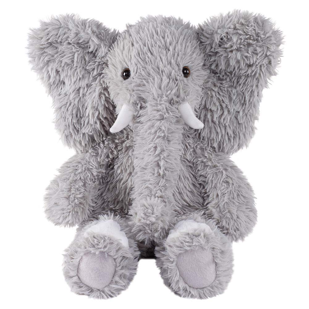 Vermont Teddy Bear Oh So Soft Elephant Stuffed Animals Plush Toy, Gray, 18'' by Vermont Teddy Bear