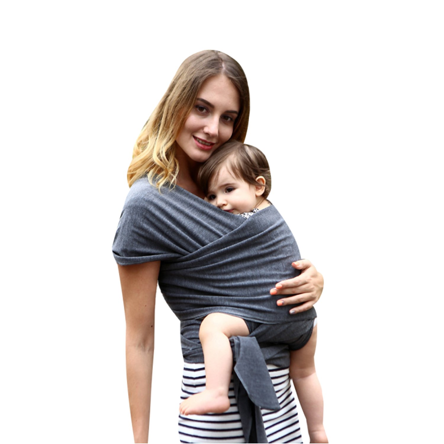 Coodebear Baby Wrap Cotton Baby Carrier Sling Stretchy Baby Holder Nursing Cover