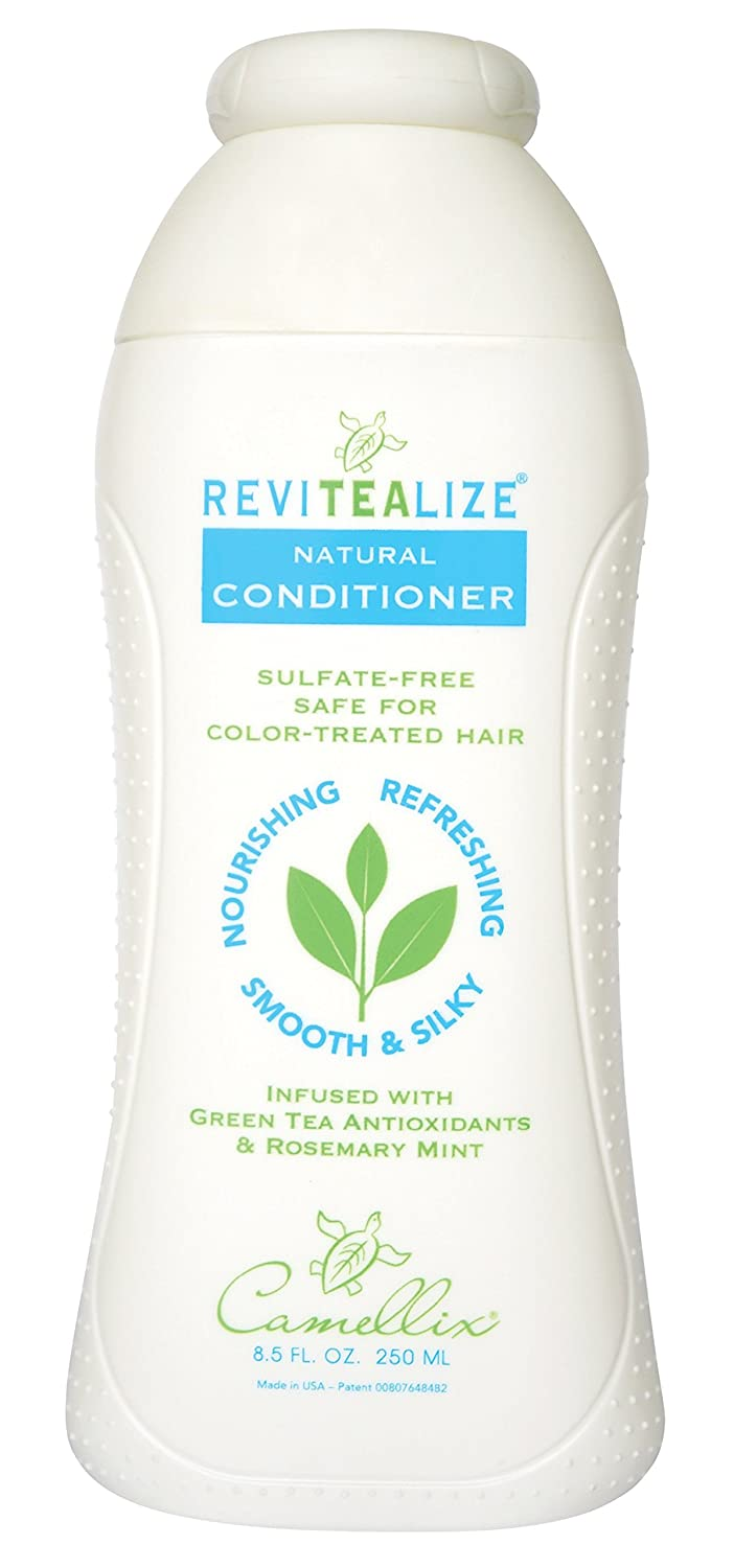 ReviTeaLize Natural Conditioner, Infused with Green Tea Antioxidants and Rosemary Mint Camellix 858168003117