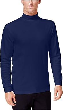 Club Room Mens Casual Long Sleeves Turtleneck Shirt