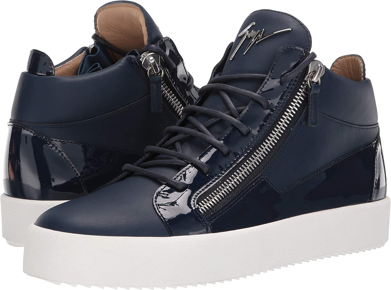 822037bc58c8d Amazon.com   Giuseppe Zanotti Mens May London Birel Mid Top Sneaker    Fashion Sneakers