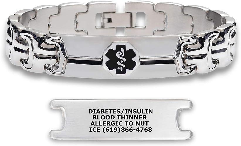 mi identificación pulsera tratamiento de la diabetes