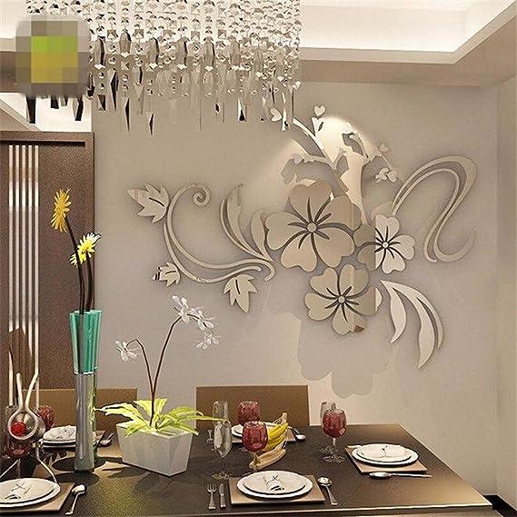 JiaMeng Pegatina de Pared, Elegante Hoja desprendible 3D Love Etiqueta de la Pared calcomanías de Vinilo de Arte decoración del Dormitorio: Amazon.es: Hogar