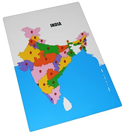 Buy kido toys wooden jigsaw puzzle map of india jumbo online at kido toys wooden jigsaw puzzle map of india jumbo gumiabroncs Image collections