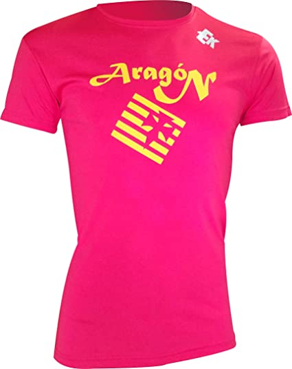 Camiseta EKEKO Aragon 18, Atletismo, Running y Deportes en General