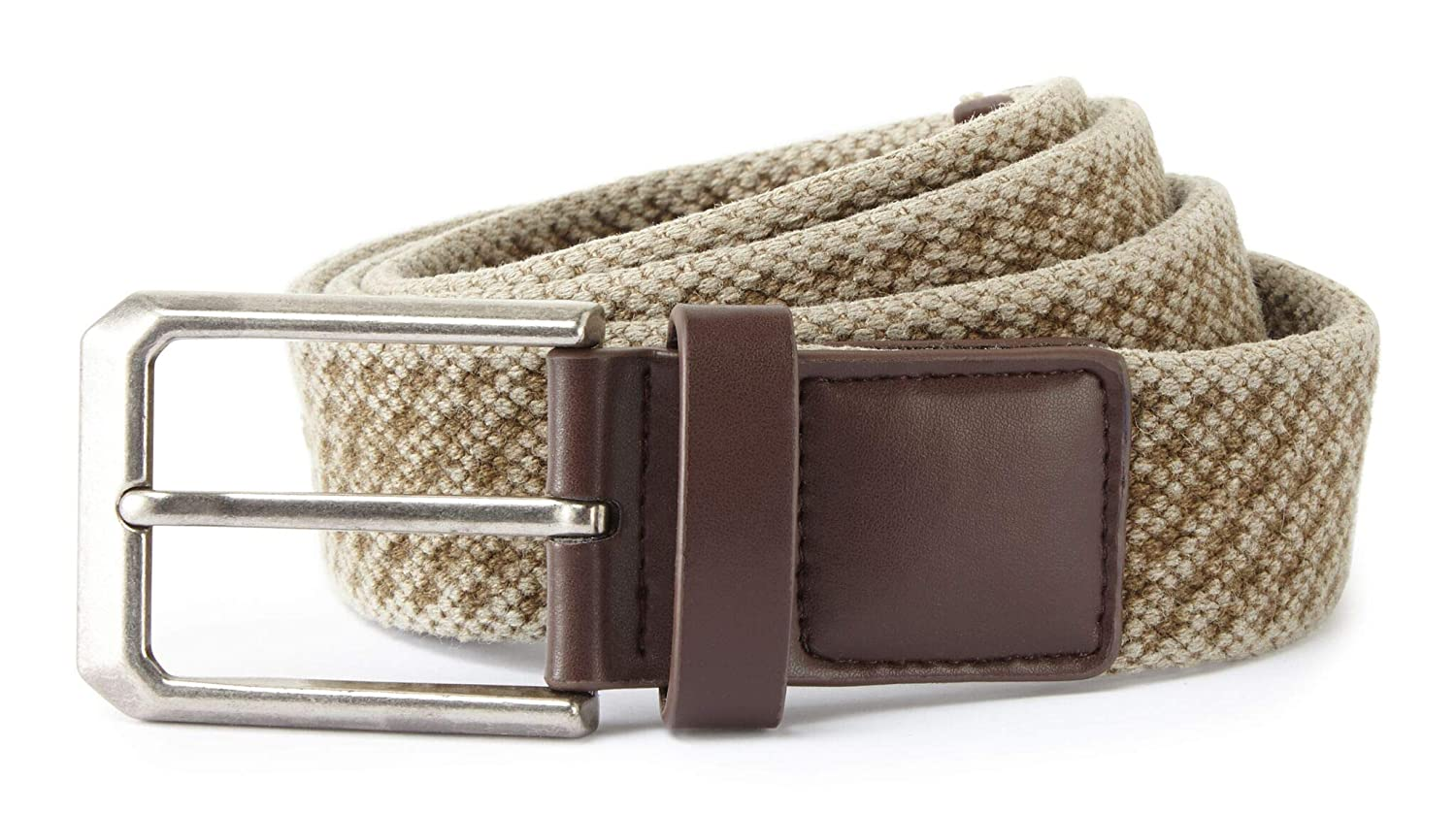 Asquith /& Fox AQ905 Mens Vintage Wash Canvas Belt