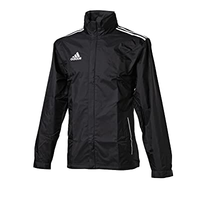 adidas Core 11 Rain Jacket (Black/White)