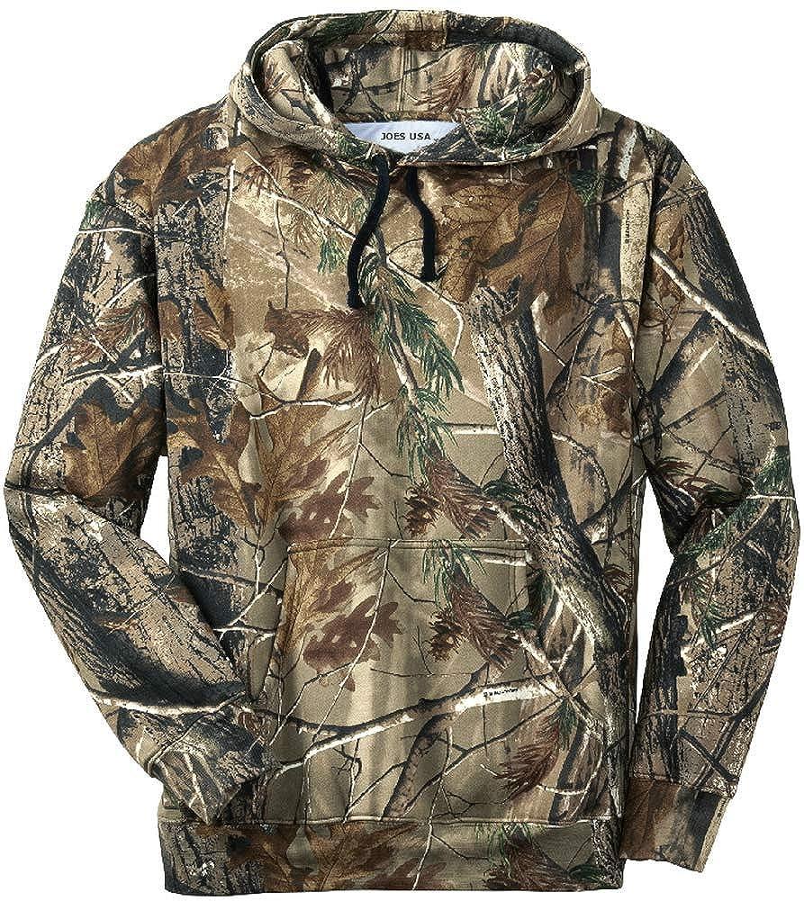 074e3ef5fc773 Amazon.com: Joe's USA - Realtree Camo Hunting Shirts, Crewnecks and  Hoodies: Clothing