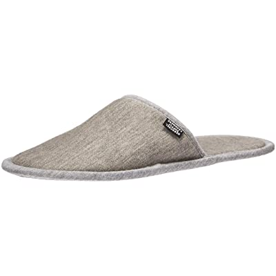 Herschel Cashmere Slippers, Heathered Grey: Clothing