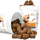 Mighty Petz Fish Oil Omega-3 Chews For Dogs & Cats and Bonus eBook! Glossy Coat, Healthy Skin! Best Absorption Treats. Active Lifestyle & Strong Joints! Allergy & Itching Relief! EPA, DHA, Vitamin E!
