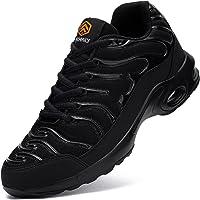 Fenlern Zapatillas de Seguridad Mujer S1, Zapatos de Trabajo Ligeras Punta de Acero,Calzado de Seguridad con Colchón de…