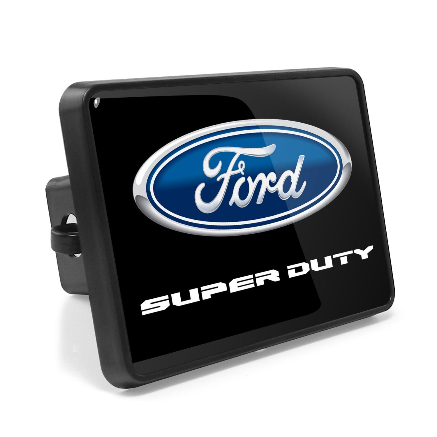 Ford F-Series Super Duty 2016 to 2017 UV Graphic Metal Plate on ABS Plastic 2' inch Tow Hitch Cover, Made in USA iPick Image