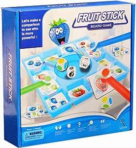 VHFIStj Fruit Sticks Juegos de Mesa Niños Divertidos Juguetes educativos tempranos Fiesta de interacción Familiar Juegos de Rompecabezas para niños Fiesta: Amazon.es: Juguetes y juegos