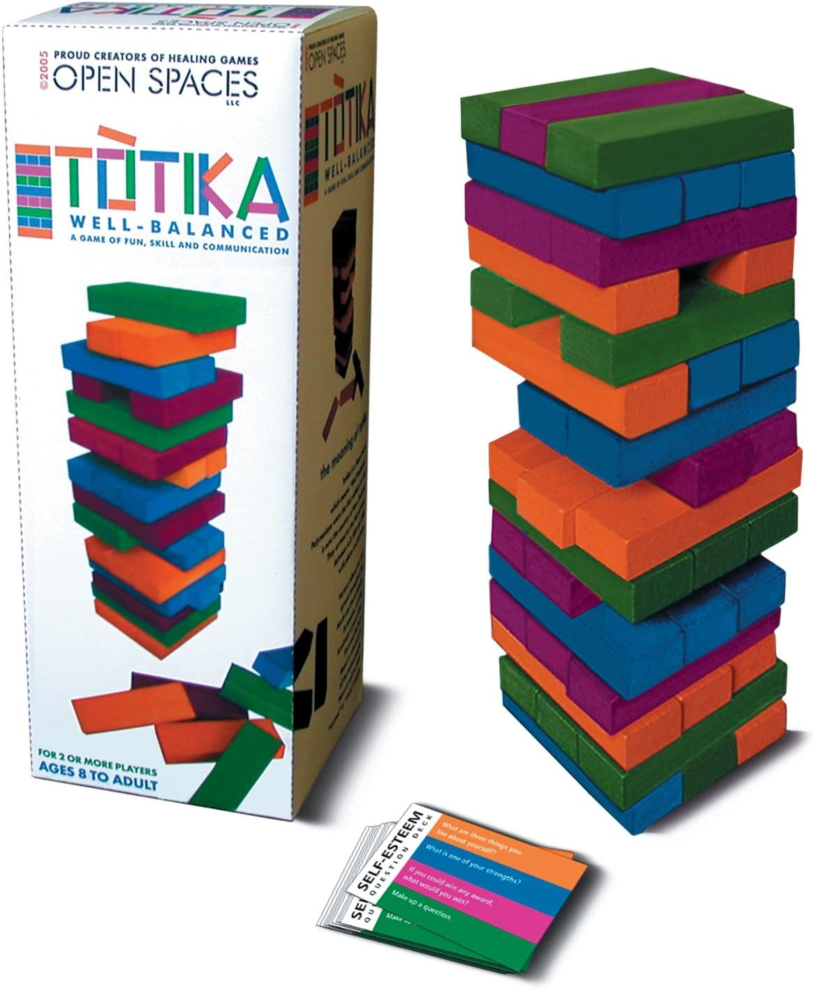 Totika Self-Esteem Game (Discontinued by manufacturer) by Open Spaces, LLC: Amazon.es: Juguetes y juegos