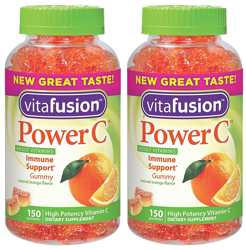 VF C Gummy for Adults, 2 Pack (150-Count)