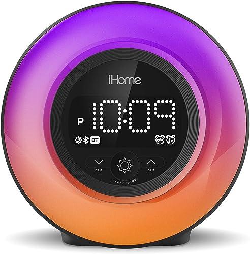 iHome PowerClock Glow Bluetooth Alarm Clock