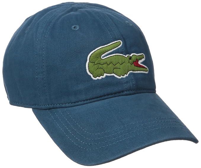 e18433d2108 Lacoste Men s Big Croc Gabardine Cap