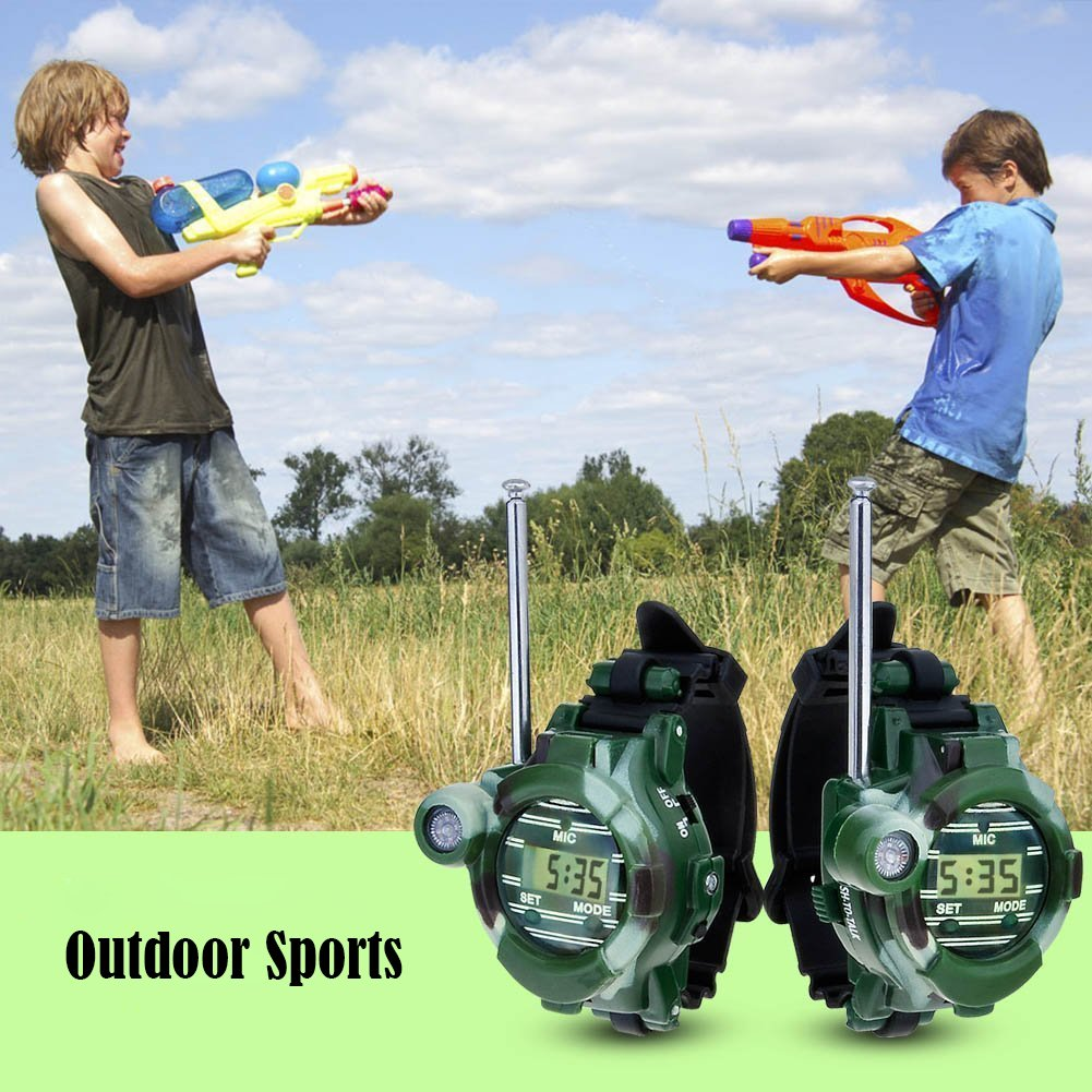 Kids Walkie Talkies, XHAIZ Long Range Walky-Talky Watch for Kids, Cool Outdoor Gifts For Boys and Girls by XHAIZ (Image #7)
