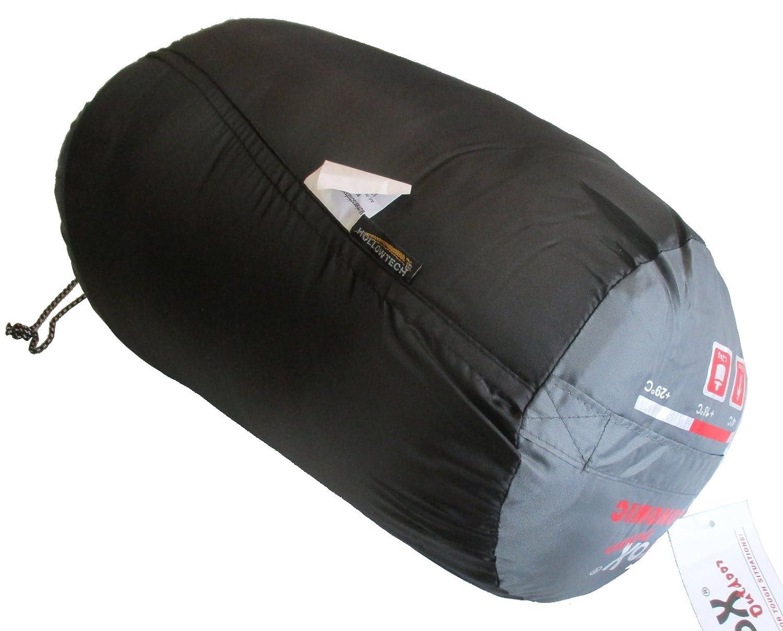grau Mumienschlafsack ECONOMIC FOX Schlafsack Camping Outdoor Zelten schwarz