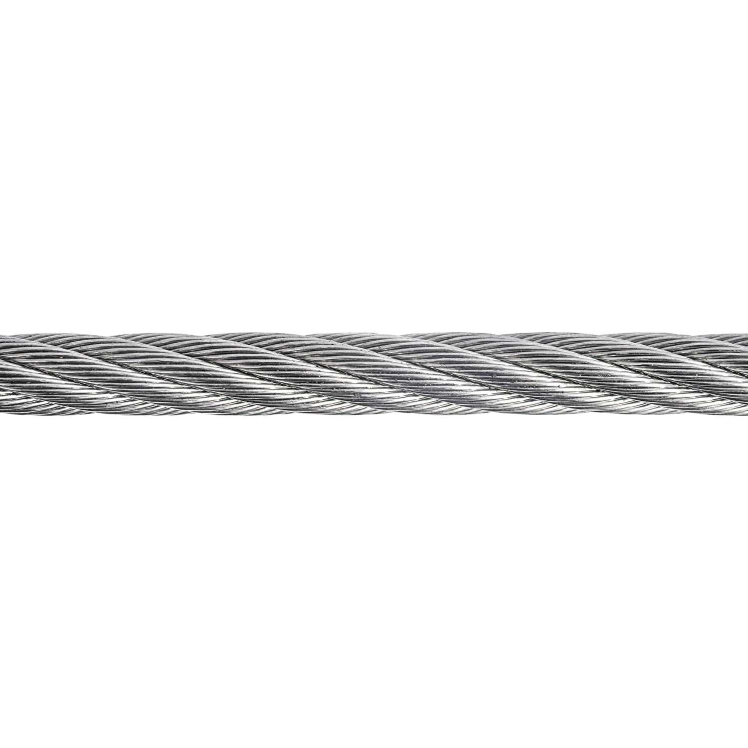 """All Diameters and Lengths Available 250-Foot Spool Premier Stainless Solutions 1//4/"""" 7x19 Stainless Steel Very Flexible Cable T316 Marine Grade"""