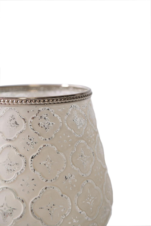 Home/&Decorations Windlicht Teelichtglas Windlichthalter Kerzenglas Glasvase Windlichtglas Laterne Glas Vase Kerze ca.12X12X18cm