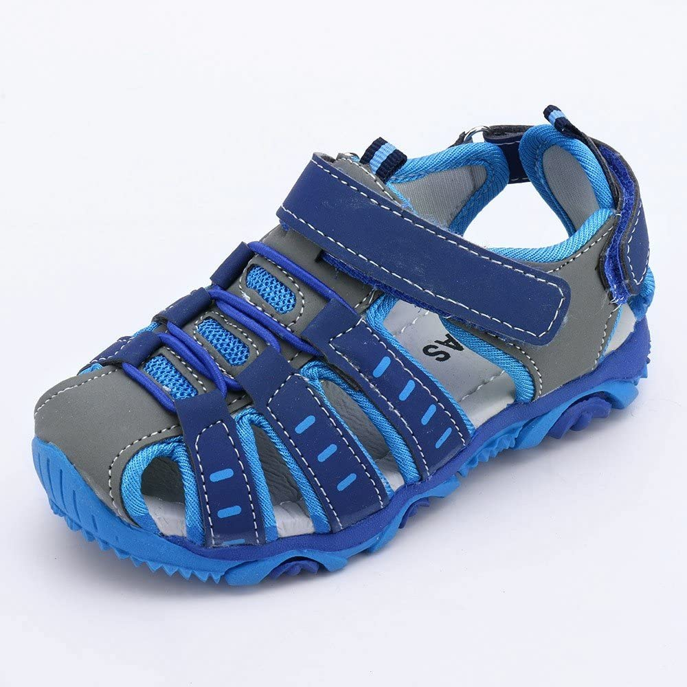 Toddler//Little Kid Kariwell Kids Shoes Summer Beach Sandals Shoes Sneakers Boy Girl Closed Toe Sandals