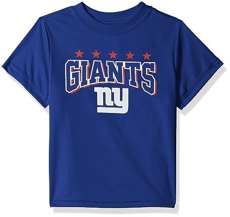 buy popular 079fa 943e6 NFL New York Giants Unisex Short-Sleeve Tee, Blue, 3T