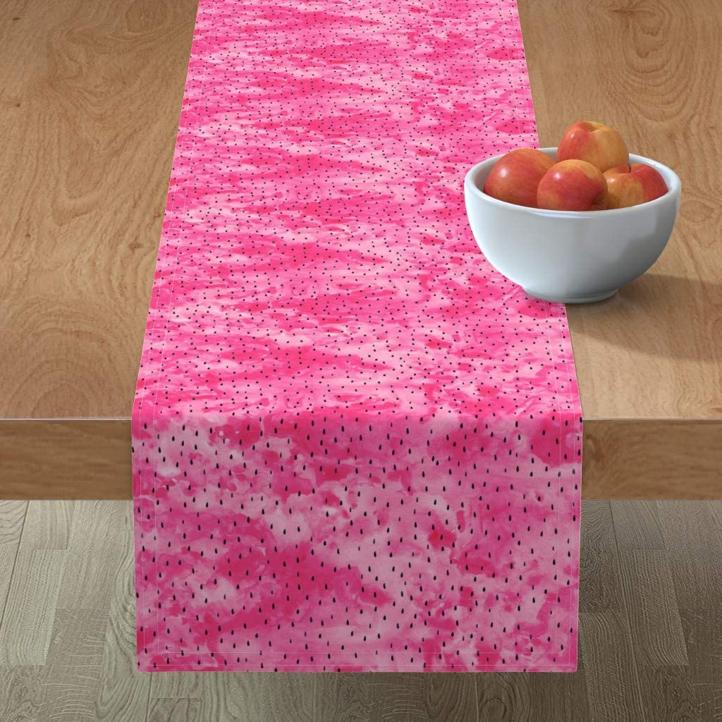 Pink Table Abstract