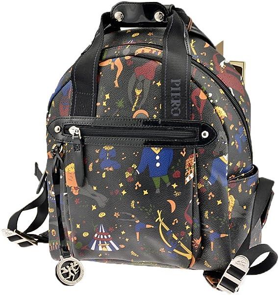 ab77647196 PIERO GUIDI Backpack magic circus Female Black - 215084030-P4:  Amazon.co.uk: Shoes & Bags