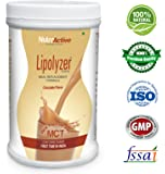NutroActive Lipolyzer Meal Replacement (454 gm) Low Carb Shake, Weight Loss Shake