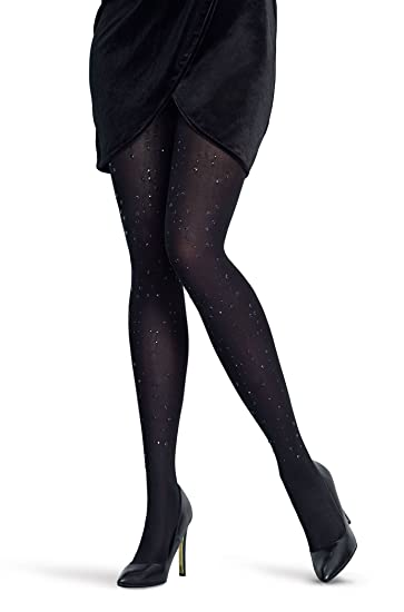 64e83046a16 Stud 80 Denier Premium Quality Printed Fashion Tights at Amazon Women s  Clothing store