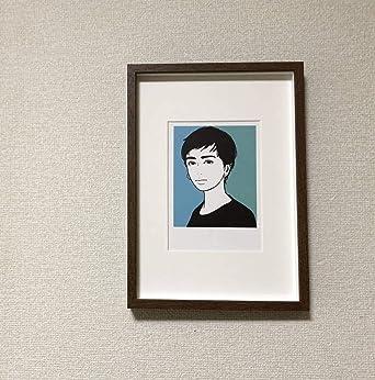 Amazoncojp Kj 額装品 Kyne イラスト 3 額入り アートフレーム