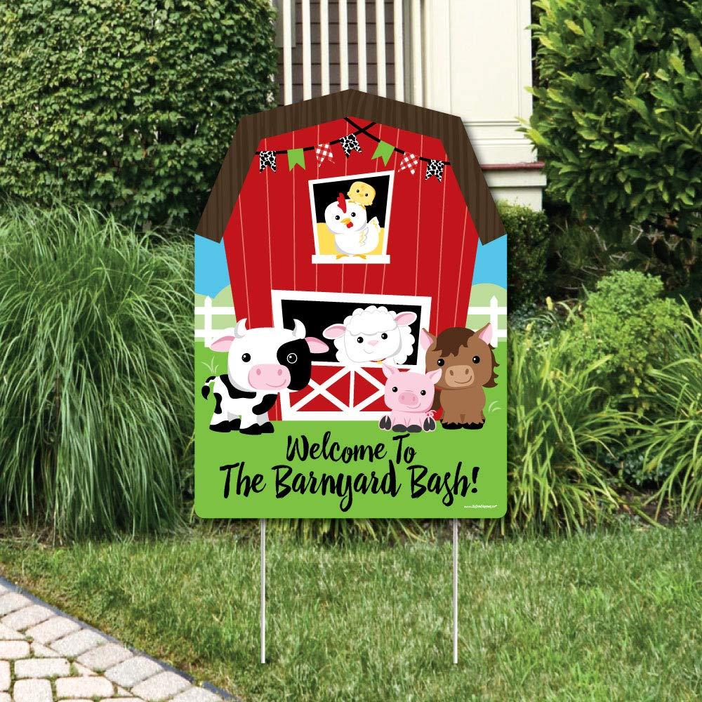 Amazon Com Farm Animals Barnyard Animal Lawn