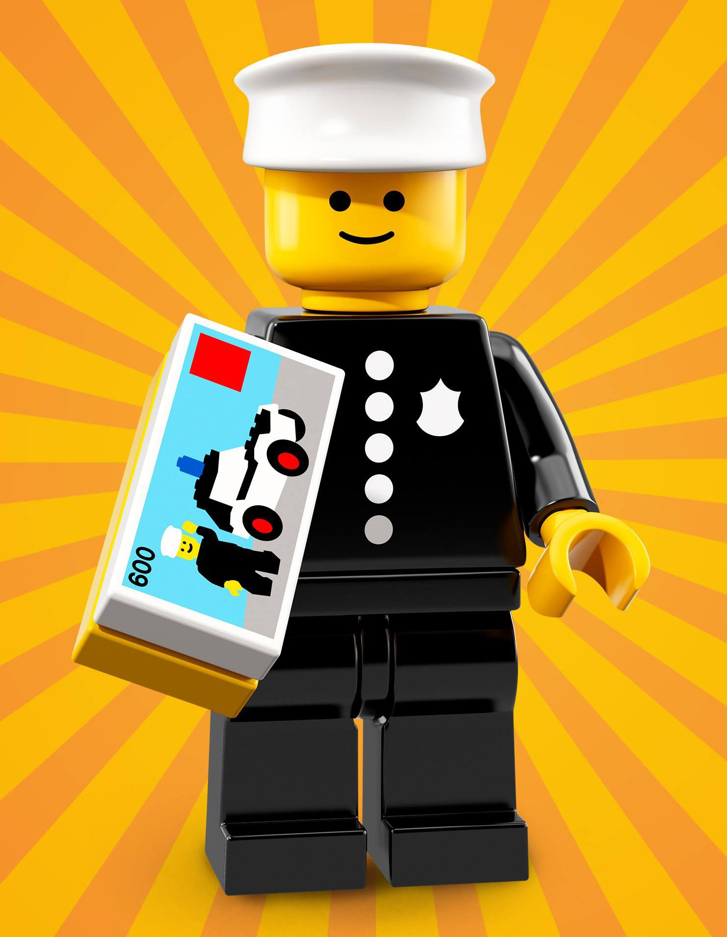 Classic Party Clown NEW LEGO  MINIFIGURE​​S SERIES 18