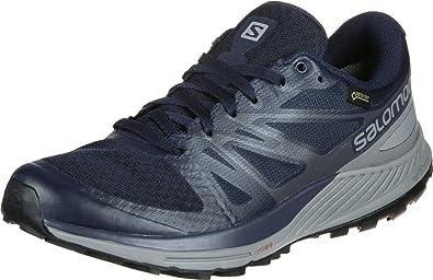 Salomon Sense Escape GTX Zapatillas de Trail Running Navy: Amazon.es: Zapatos y complementos