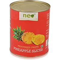 Neo Foods- Fruits Pineapple Slices, 820g Can