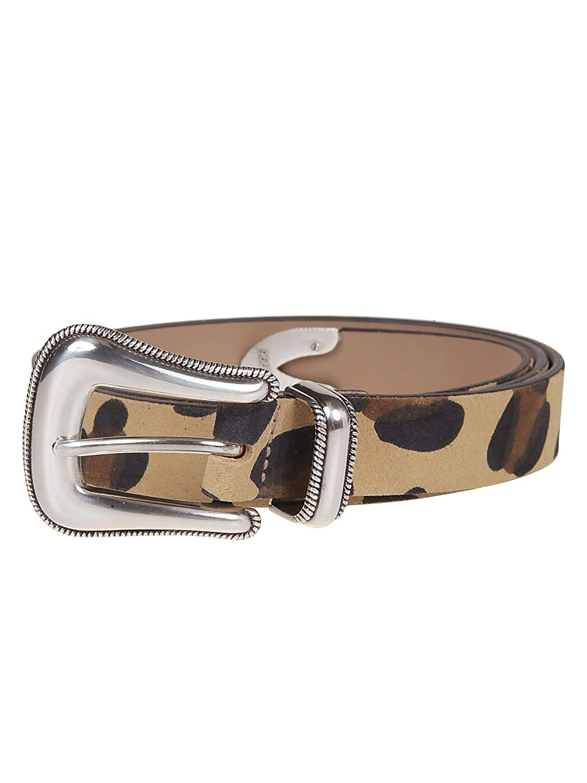 BLow The Belt Women's BH173520 Beige Leather Belt