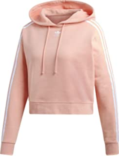 adidas Originals Damen Chopped Hoodie Hellblau: