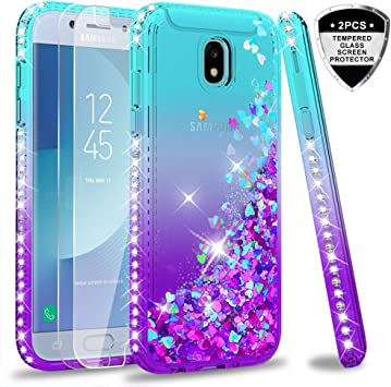 LeYi Compatible with Funda Samsung Galaxy J5 2017 Silicona ...