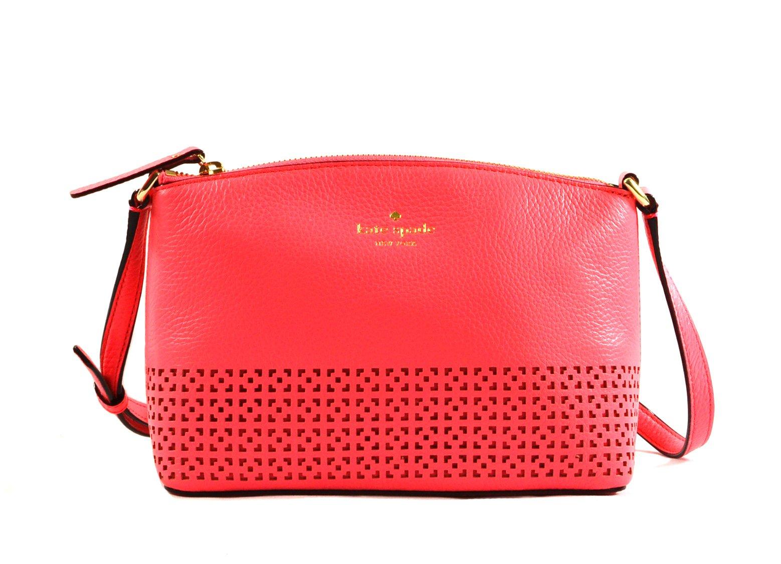 Kate Spade New York Wakefield Lane Millie Crossbody Bag Handbag Purse (Red)