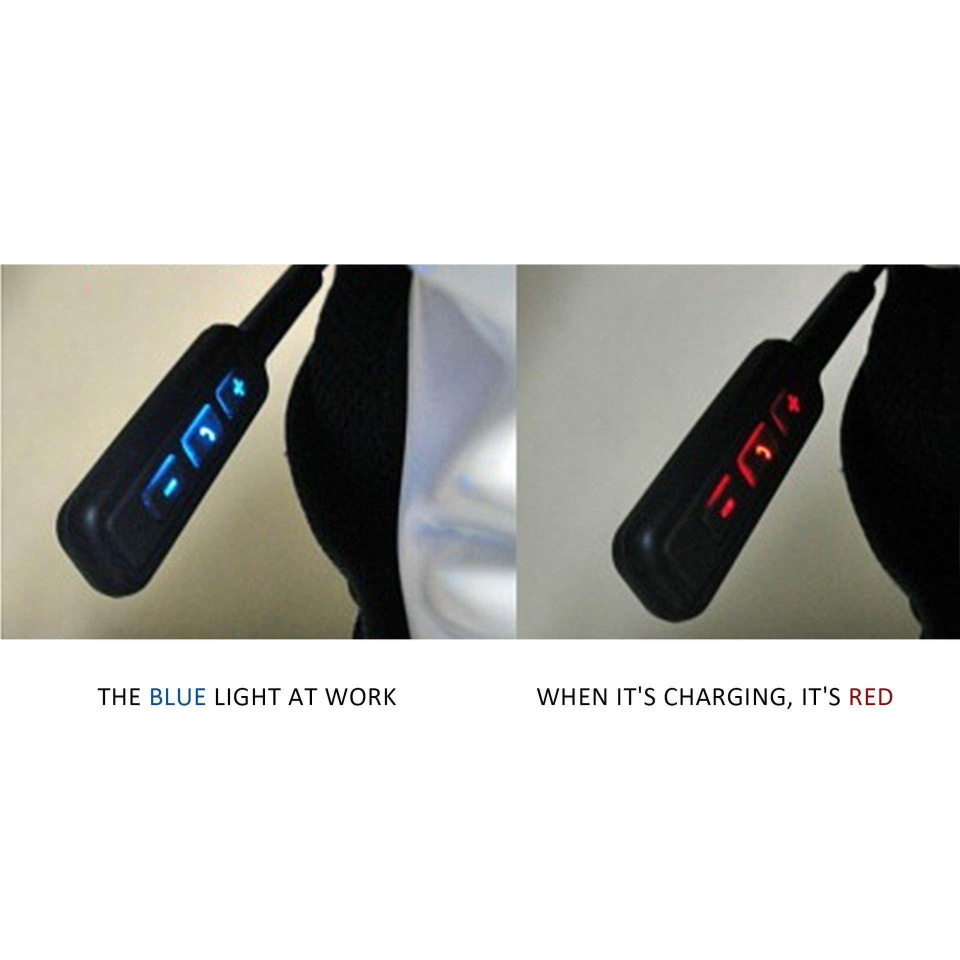 ESoku Motorcycle Bluetooth Headset, Wireless Helmet Headphones with Speakers Hands free Music Call Control for Motorbike or Skiing