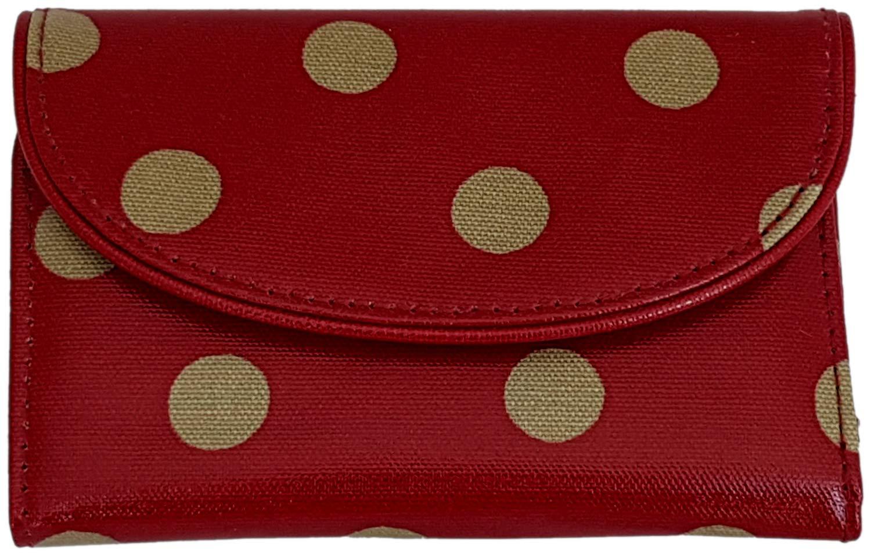 Cath Kidston 728614 - Cartera para Mujer Rojo Frutas del Bosque