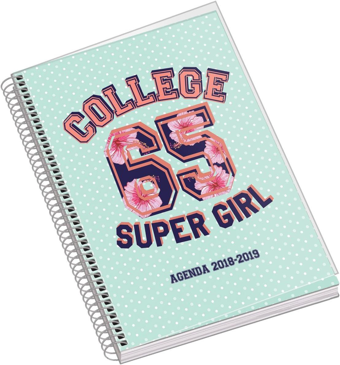 Dohe 10991 - Agenda escolar semana vista College: Amazon.es: Oficina y papelería