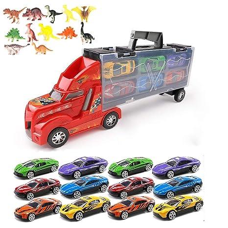 Siyushop Transportar el Carro del camión de Juguete para ...