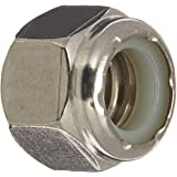 The Hillman Group 829724 3/8 by 16-Inch Stainless Steel Nylon Insert Locknut, 50-Pack