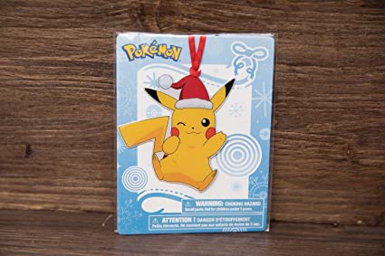 Pikachu Christmas Ornament.Amazon Com Pikachu Pokemon Christmas Ornament Tru Exclusive