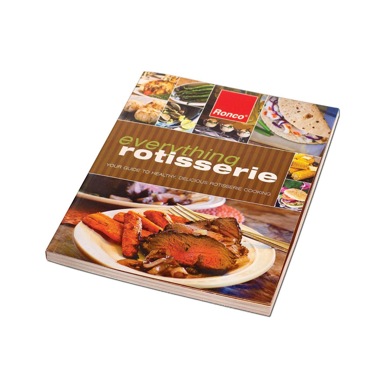 【中古】 Ronco BK5250PRT Ronco Rotisserie Ronco Cookbook, White by by Ronco B00Q5MVVB4, 和柄アイテムshop 小都:5e2e5146 --- irlandskayaliteratura.org