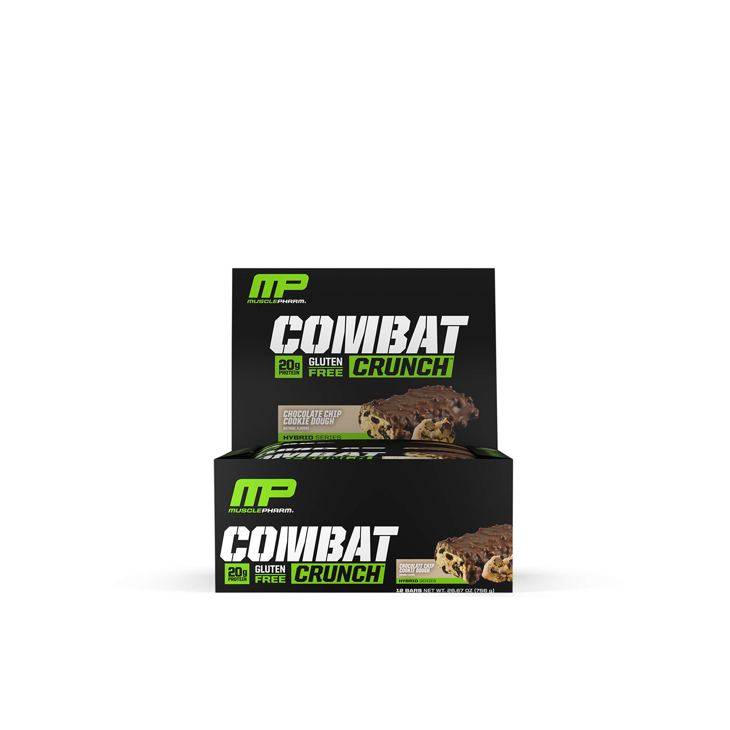 MusclePharm Combat Crunch Protein Bar Multi Layered Baked Gluten Free Bars