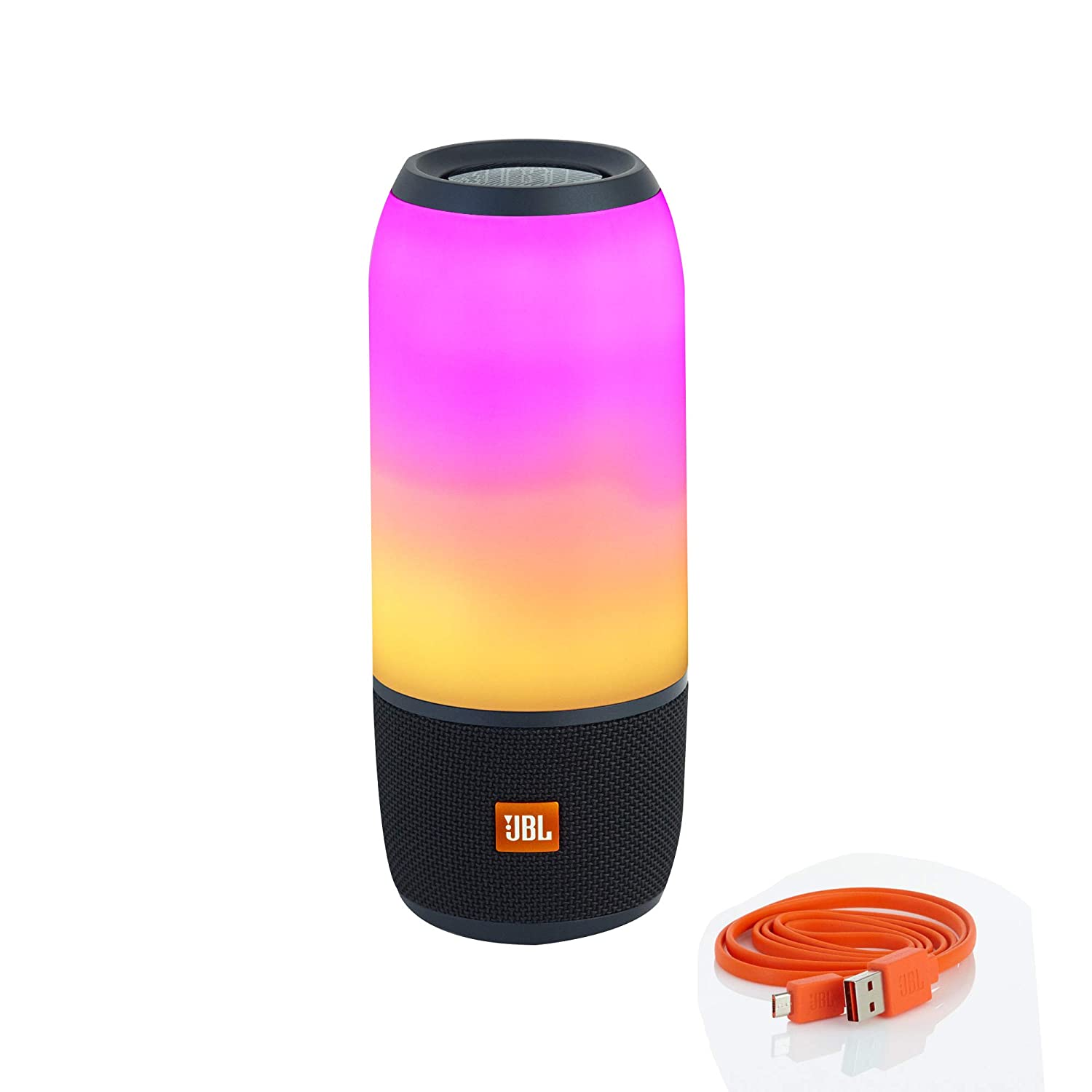 JBL Pulse 8 Wireless Portable Speaker with Vibrant Lightshow (Black)