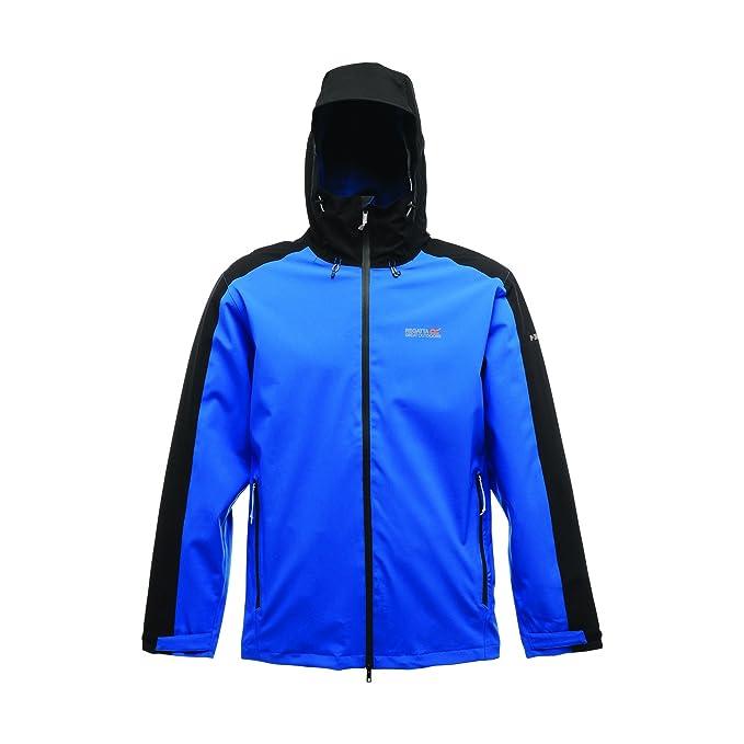 Regatta - Chaqueta / abrigo impermeable modelo Point 214 Topout para hombre (Pequeña (S
